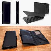 3D wallets design long model
