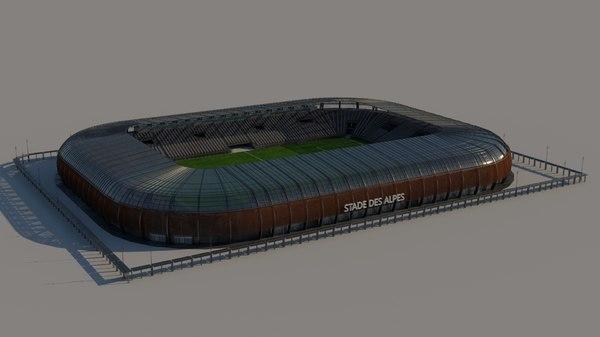 alps stadium 3D