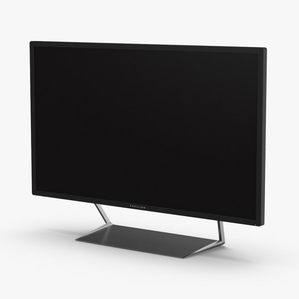 3D hp-pavilion-32-inch-qhd-wide-viewing-angle-display---branded model