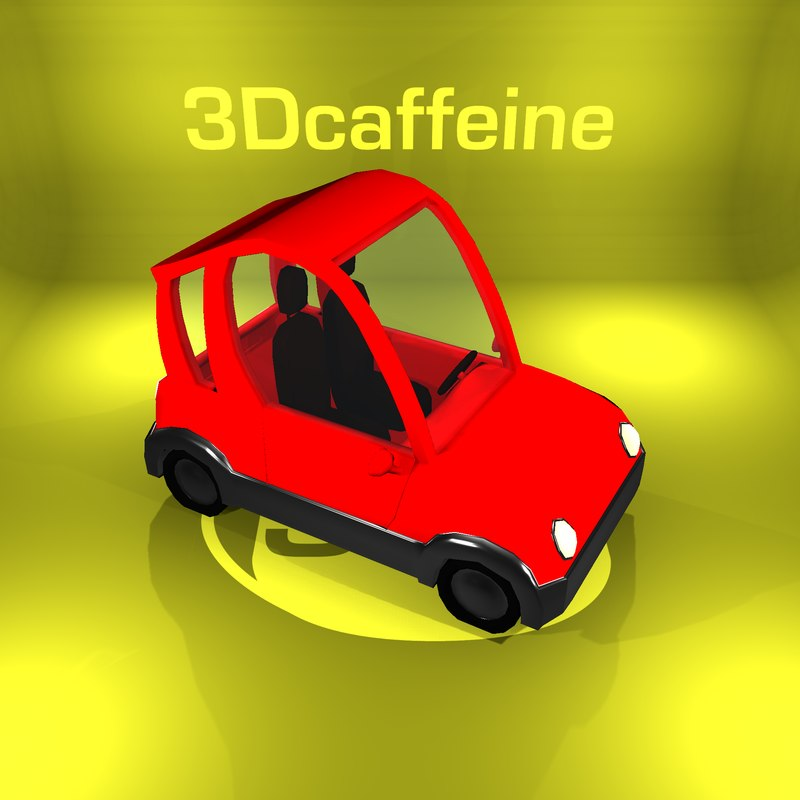 3D car ready engine
