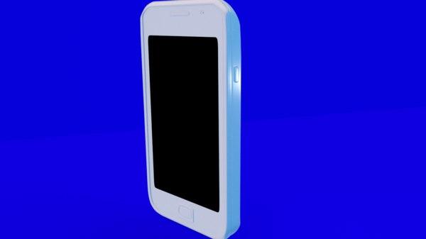 3D model samsung mobile