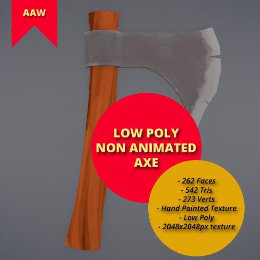 3D model non axe