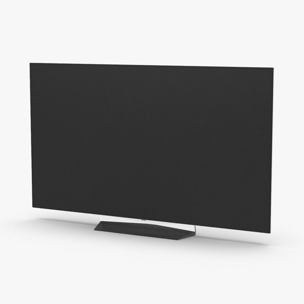 lg-55 -class-oled--4k-ultra-hd-tv----unbranded 3D model