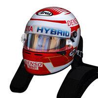 nakajima wec helmet 3D model