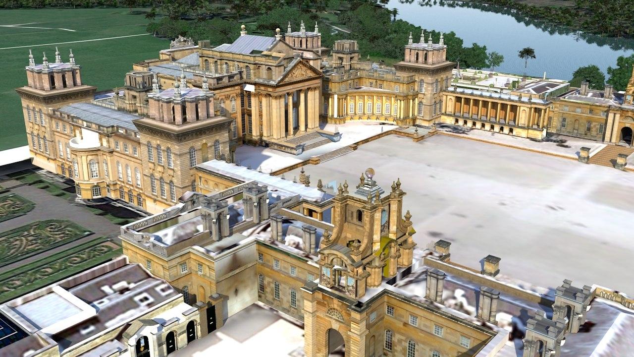 3D blenheim palace