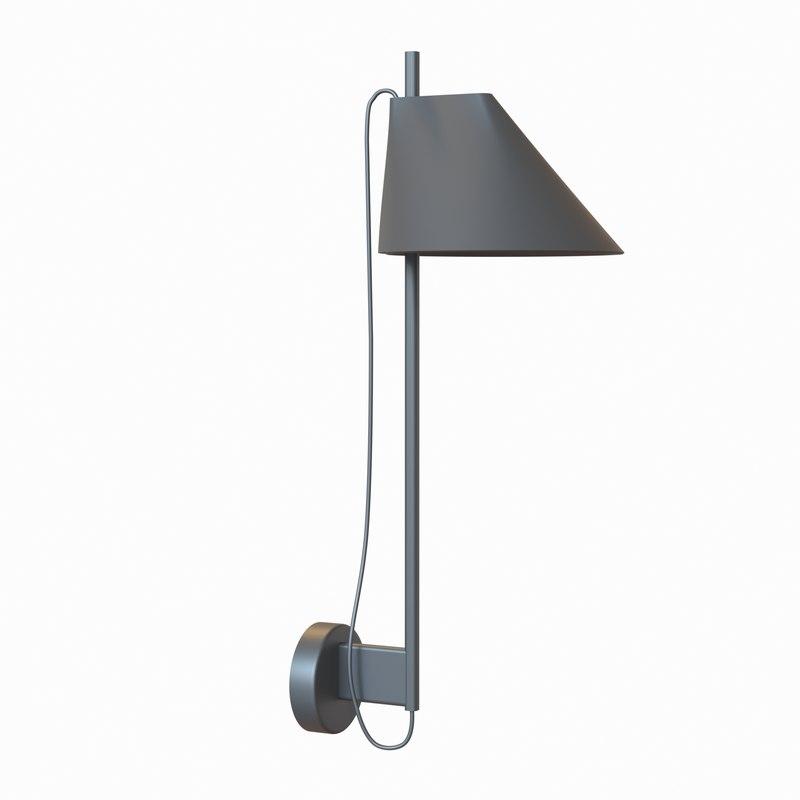 3D yuh wall lamp
