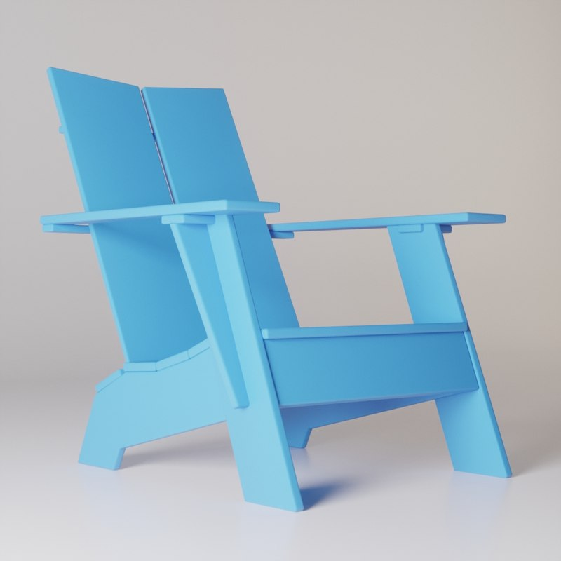 emmet lounge chair 3D model
