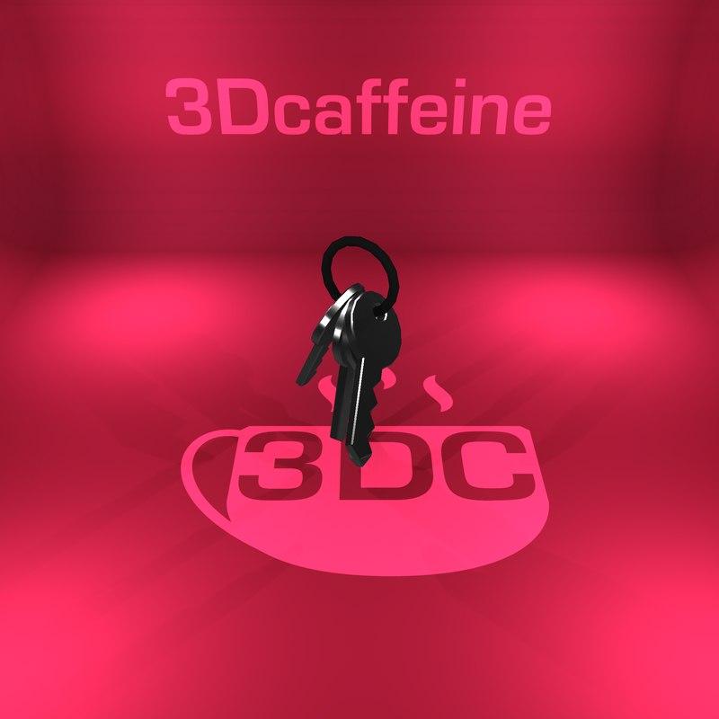 set keys 3D model