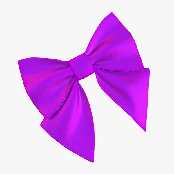 ribbon holiday 3D model
