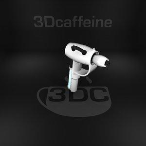 3D uzi gun