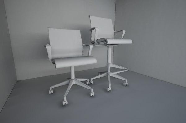 3D unreal setu chair