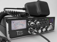 mobile cb radio 3D model
