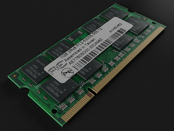 3D ram module memory