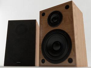 bookshelf speaker 3D model