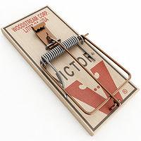 mouse trap 3D model