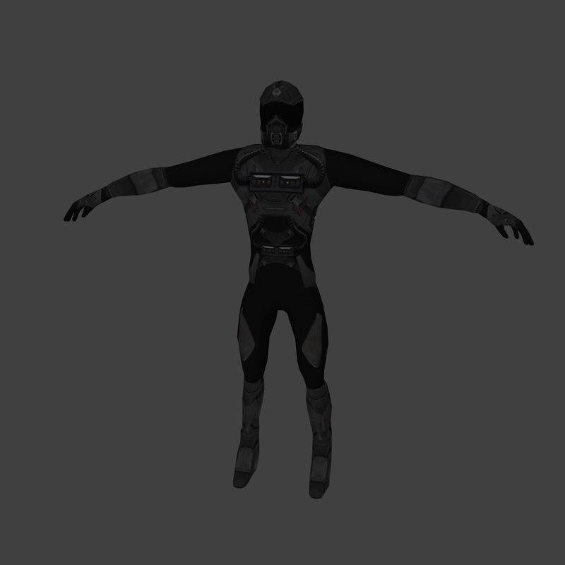 3D sci-fi