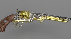 revolver colt 1851 model