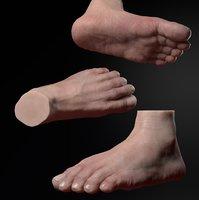 foot sculpt zbrush 3D model