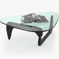 vitra coffee table 3D