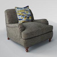3D miramar chair
