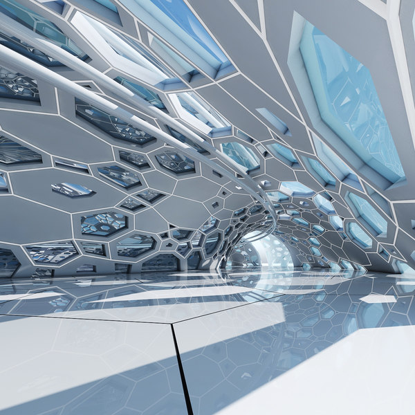 architectural interior 3D