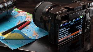 sony camera 6300 3D model