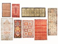 Carpet woven vintage turkish vol 03