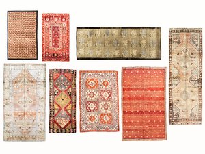 3D old vintage carpets 03 model