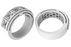 3D stylish ring
