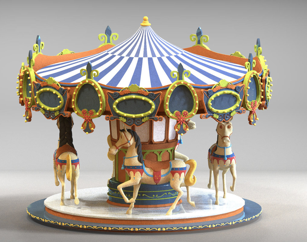 carousel fully design allows 3D