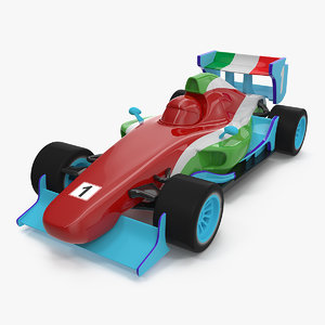 3D rasing toy car generic