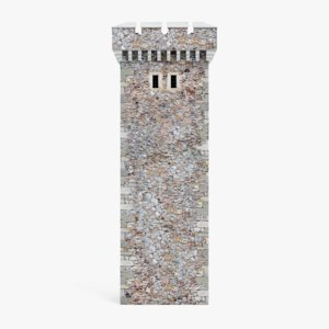 medieval tower model