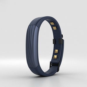 3D jawbone up3 indigo