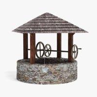 3D model medieval pbr