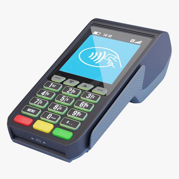 3D pos payment terminal pay