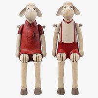 Decorative Sheep Figurines
