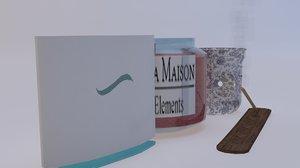 3D aroma pack model