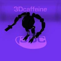 3D fighter mech