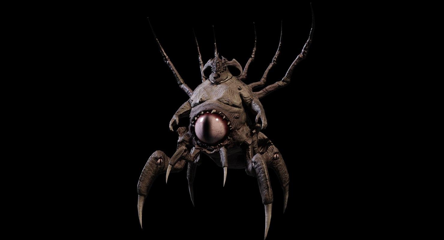 crawler creature 3D