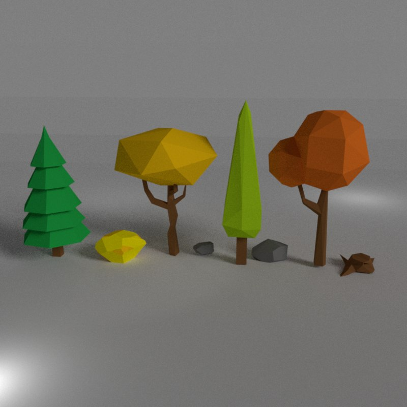 nature pack 3D model
