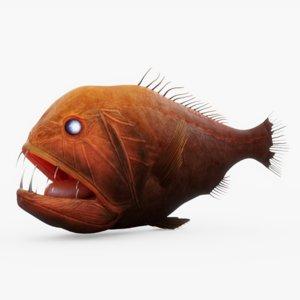 3D model fish 01