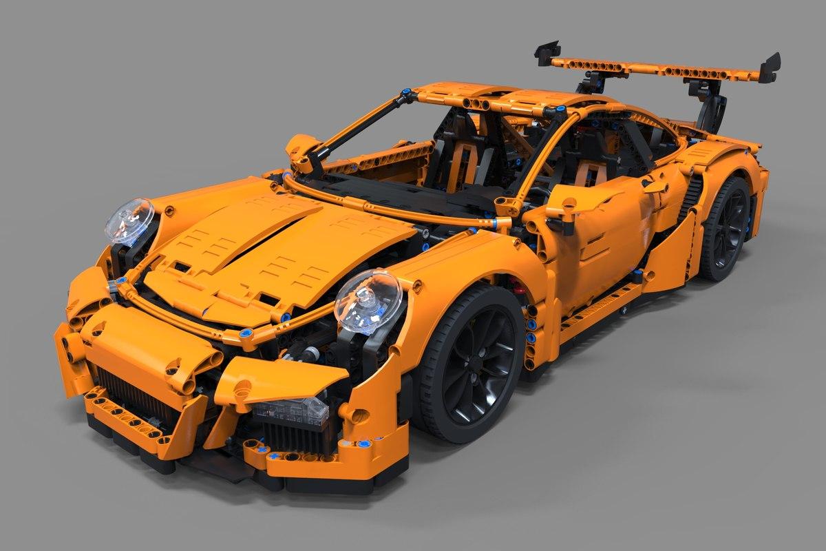 3D car lego