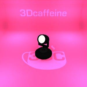 3D spot light model