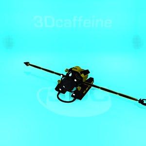 submarine robotic research model