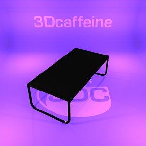 designer table 3D
