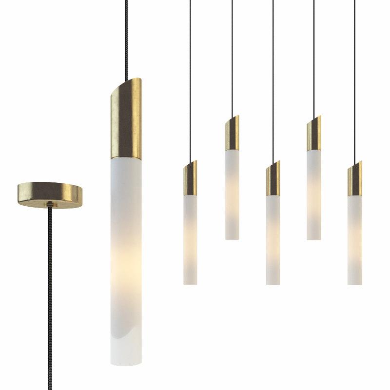 3D chandelier mw-light perspective 631012405