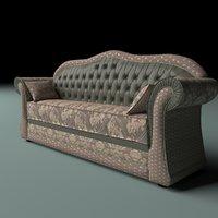 3D model sofa ilona