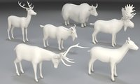 animals uw mapped 3D