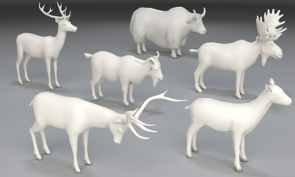 animals uw mapped 3D