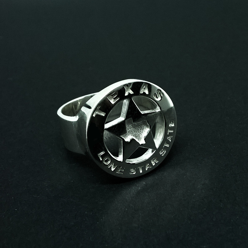 texas lone star state 3D model